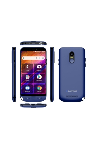 Blaupunkt Guardian Androidos okos nagyitelefon, 2 Gb RAM 16 Gb ROM, kék