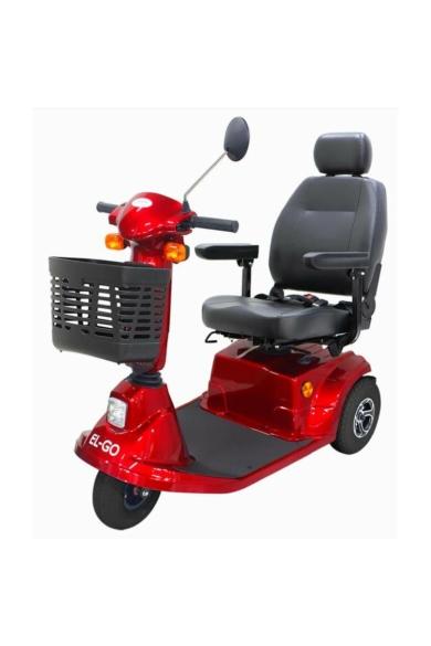 EL-GO 3 kerekű elektromos moped, indexszel