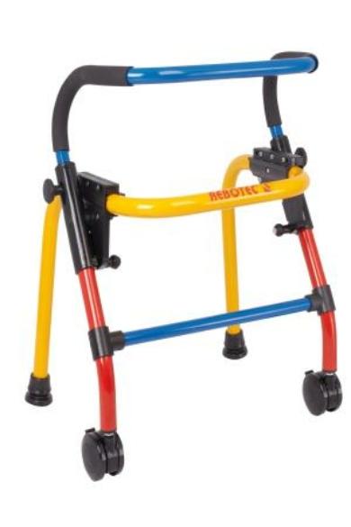 Walk-On gördíthető járókeret 2 kerékkel