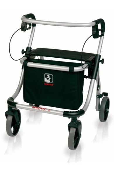 Polo Plus-T rollátor bottartóval és bevásárlótáskával