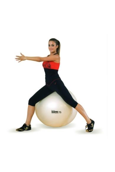 Gimnasztikai labda FIT-BALL 75 cm