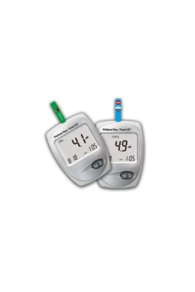 Wellmed Easy Touch GC vércukormérő és koleszterinszint mérő