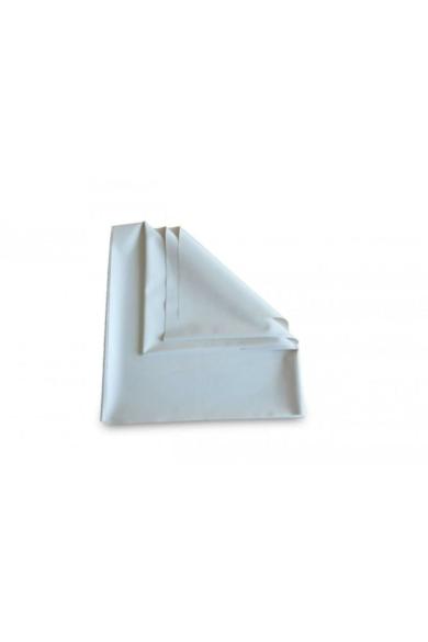 Gumilepedő 90cmx10fm Fehér