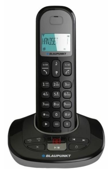 Blaupunkt vezetéknélküli (DECT) telefon készülék 1 kézibeszélővel
