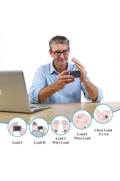 Viatom Pulsebit - Személyi EKG nyomkövető /Egészségmonitor