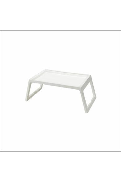 Műanyag, tálcás, összecsukható ágyasztal (57 x 36 cm)